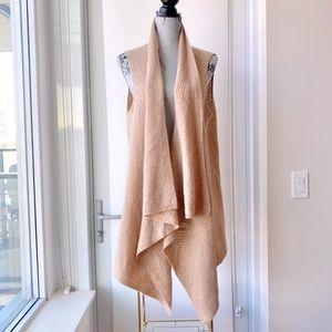 Ultra Soft Waterfall Sweater Vest